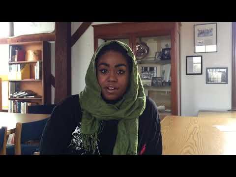 Shaheena Shahid speaks at Purnell School