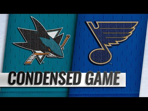 11/09/18 Condensed Game: Sharks @ Blues
