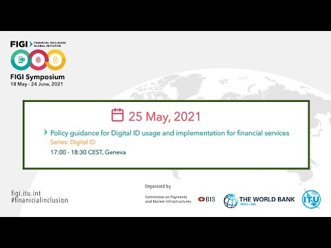 FIGI 2021 | Policy guidance for Digital ID usage and implementation for financial services
