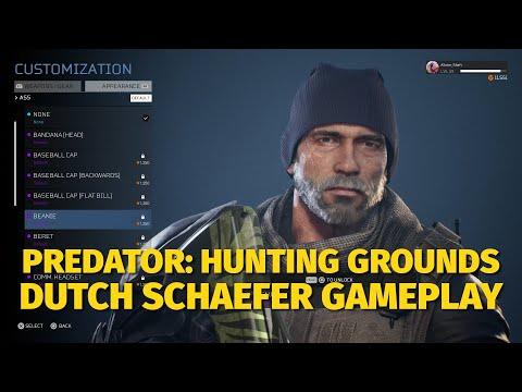 Predator: Hunting Grounds - Dutch Schafer Gameplay