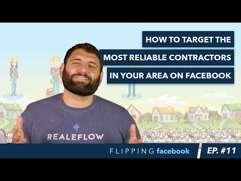 How To Target The Most Reliable Contractors In Your Area On Facebook