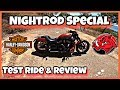 Night Rod Special Test Ride & Review. SKIDPIG