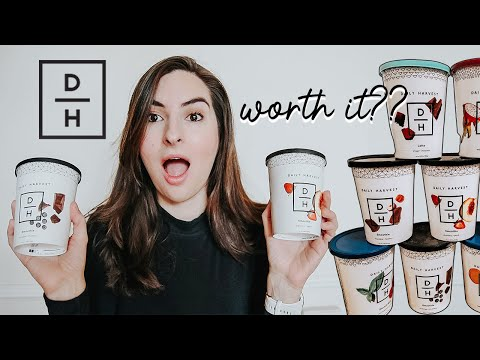 I Tried Daily Harvest for a Week  | Brutally Honest Daily Harvest Review