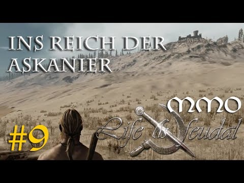 Let's Play Life is feudal MMO #9: Ins Reich der Askanier - Neues zu LiF MMO (Closed Beta / gameplay)