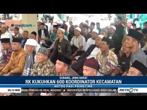 Ridwan Uu Kukuhkan 600 Koordinator Tim Pemenangan