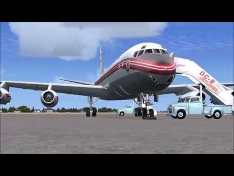 Just Flight DC-8 10 to 40 ( FSX ), Part 1