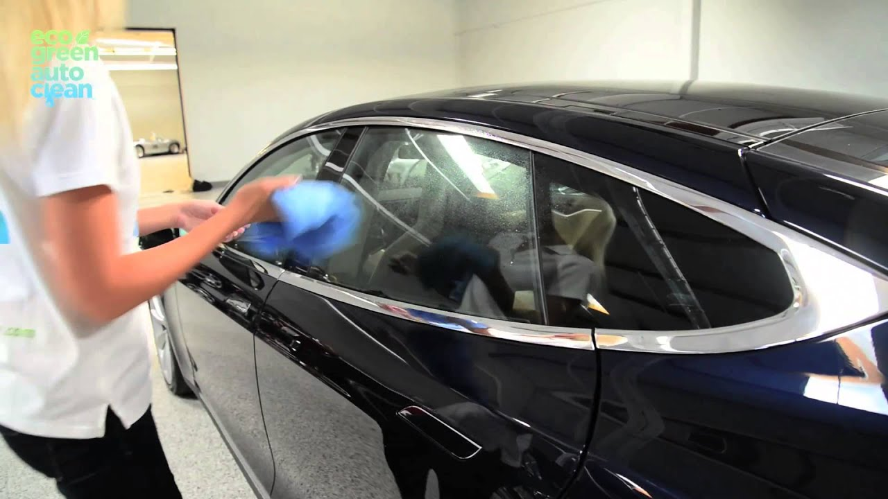 eco green auto clean how to clean windows of a car youtube. Black Bedroom Furniture Sets. Home Design Ideas
