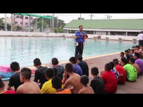 สพม.20 จัดโครงการว่ายน้ำเพื่อชีวิต