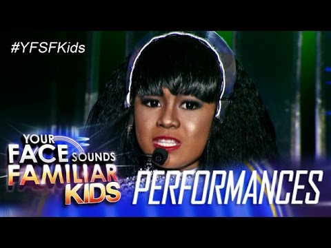 Your Face Sounds Familiar Kids: Lyca Gairanoid as...