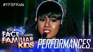 Your Face Sounds Familiar Kids: Lyca Gairanoid as Whitney Houston - Queen Of The Night