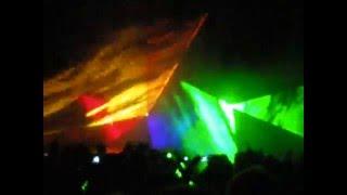 pokaz-laserów dożynki wojewódzkie w Aleksandrowie Łódzkim