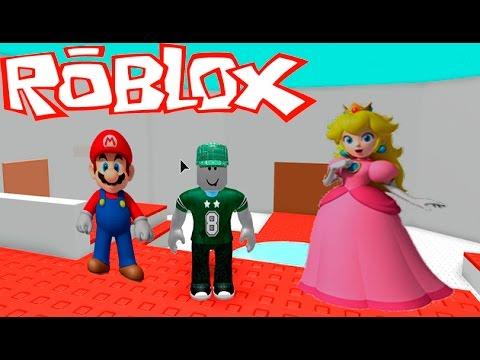 Приключения МАРИО в Роблокс! Игровое видео Детская игра Новый Побег Lets Play