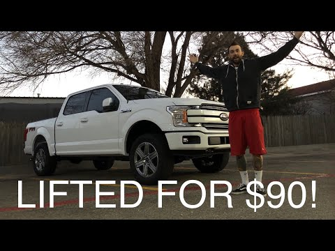 LIFTED MY NEW 2018 FORD F-150 ECOBOOST! (BETTER THAN A RAPTOR?)