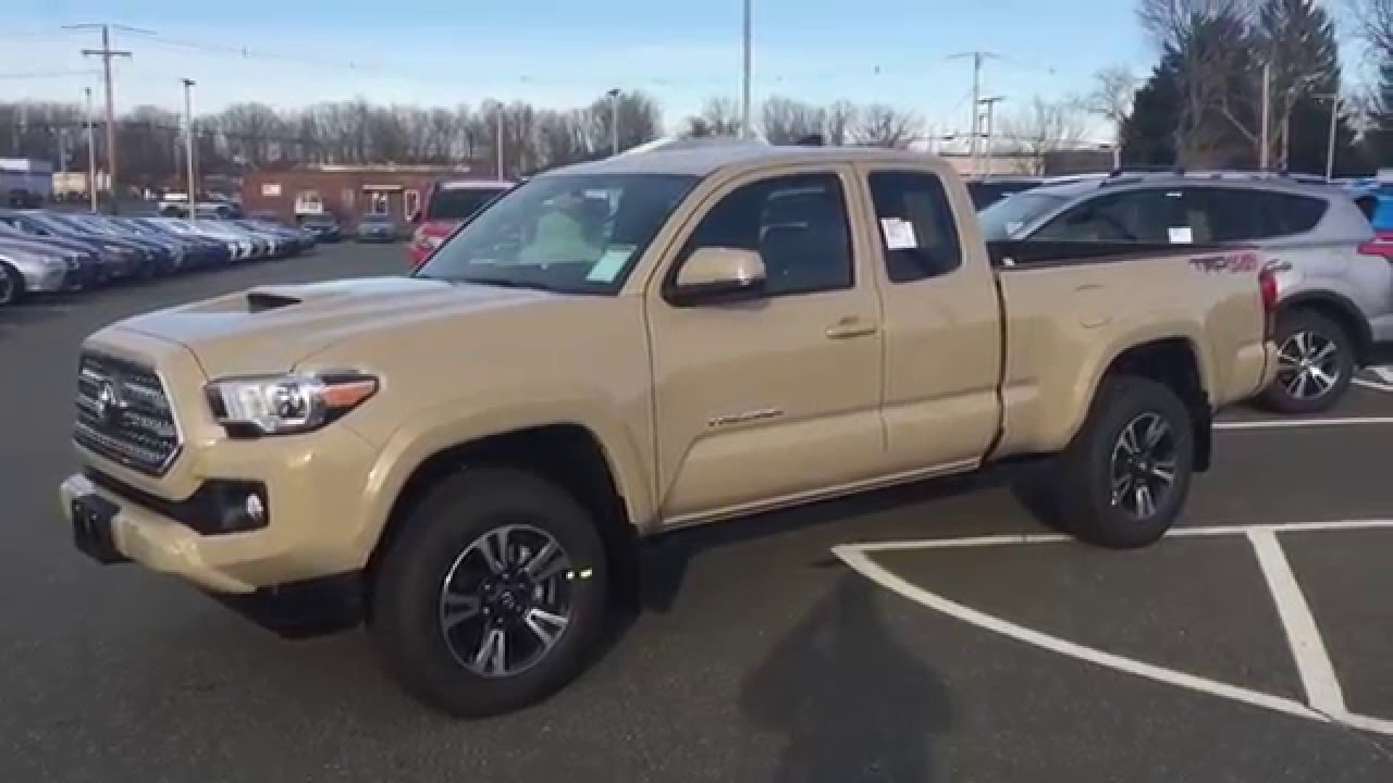 2016 Toyota Tacoma Trd Sport Access Cab At Balise
