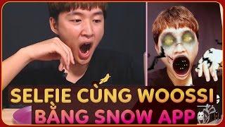 Selfie cùng Woossi bằng SNOW APP | Tạo video tự sướng cực dễ thương và vui nhộn | Snow app funny