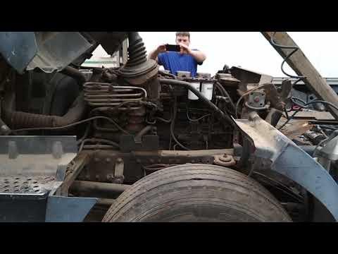 пуск двигателя D2866LF20 400 л.с. 1 часть #T246