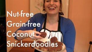 Nut-free, Paleo Coconut Sugar Snickerdoodles