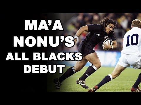 Ma'a Nonu's All Blacks Debut