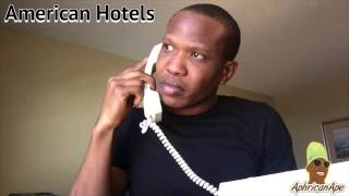 When The Hotel Puts You In The Wrong Room - Aphricanace Comedy