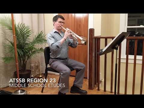 ATSSB Region 23 middle school trumpet/cornet etudes