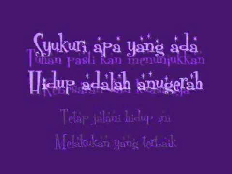 D'masiv-Jangan Menyerah(with lyrics)