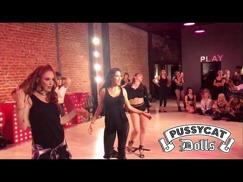 The Pussycat Dolls workout (Nicole Scherzinger, Carmit Bachar and Robin Antin)