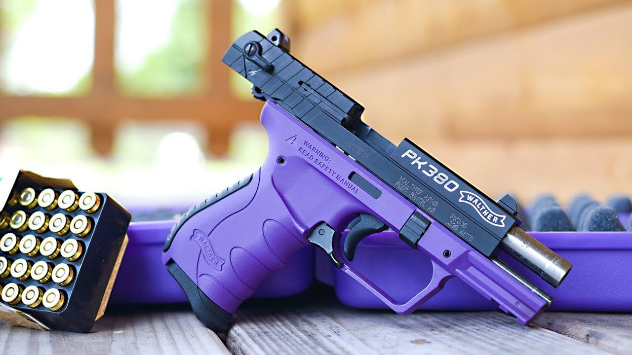 Walther PK380 - A Skittle of a Pistol