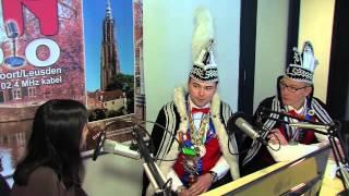 Prins Wulf en gevolg van de Eemschuumers op bezoek bij Eemland