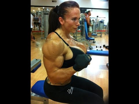 female bodybuilding, trained for so many years