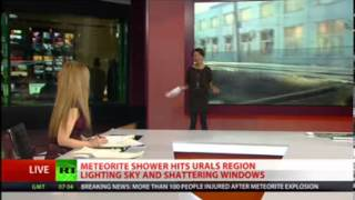 Meteorites Hits Earth-15 Feb 2013, Injures Over 900 in Russia
