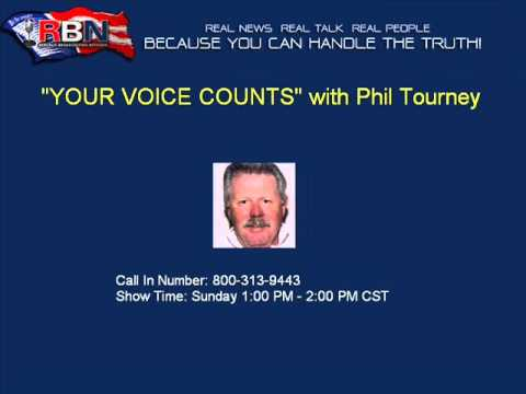 """Your Voice Counts"" with Phil Tourney 05-12-2013"