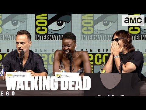 The Walking Dead: 'Andrew Lincoln vs. Norman Reedus's Muscle Car' ComicCon 2018 Panel Highlights