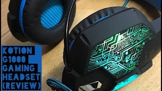 Kotion G1000 Gaming Headset 3.5mm (Test & Review)