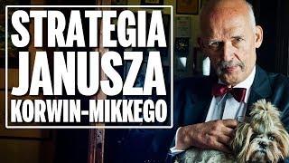 Strategia Janusza Korwin – Mikkego na wybory do Sejmu i europarlamentu.