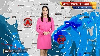 Weather Forecast for Oct 10: Cyclone Titli to give heavy rain in Odisha, Kolkata Andhra, West Bengal
