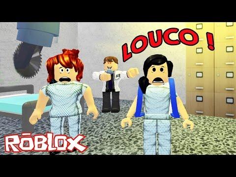 Roblox - FUGINDO DO HOSPITAL DO MAL (Escape the Evil Hospital) | Luluca Games