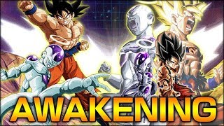 THE AWAKENING OF THE BEST UNIT IN THE GAME! LR GOKU & FRIEZA SHOWCASE! (DBZ: Dokkan Battle)