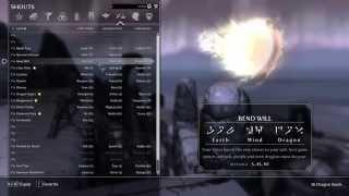 Elder Scrolls V: Skyrim | DLC Word Wall Locations | WITH COMMENTARY!