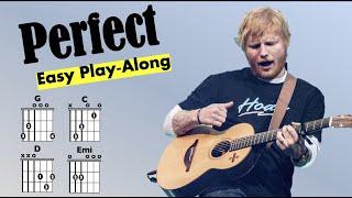 Perfect (Ed Sheeran) EĄSY Guitar/Lyric Play-Along