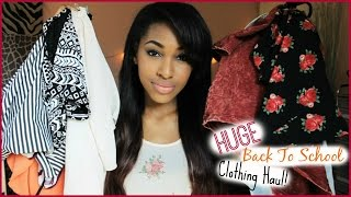 HUGE Back to School Clothing Haul! 2014-15