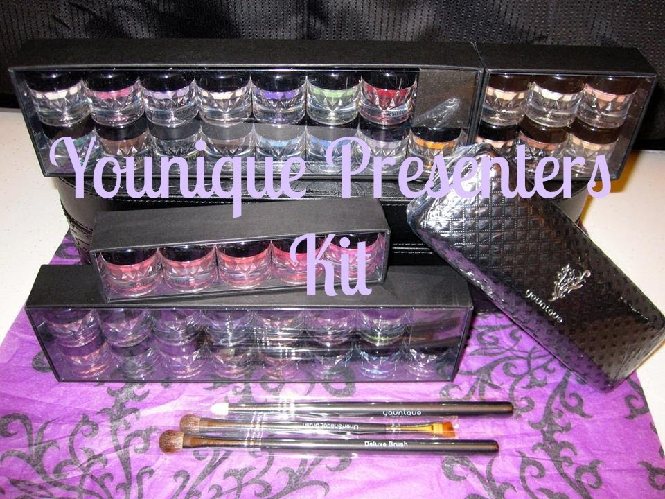 2020 Christmas Younique Presenters Kit RETIRED   Younique Presenters Kit Unboxing   YouTube