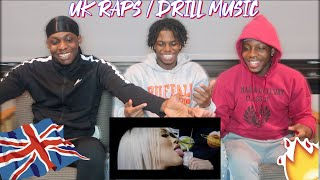 Americans/Africans React to UK RAP/DRILL music pt.2 FT. DAVE, DIGGA D, RUSS , & MORE
