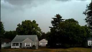 June 29, 2012 Derecho Storm Newark, Ohio In Licking County