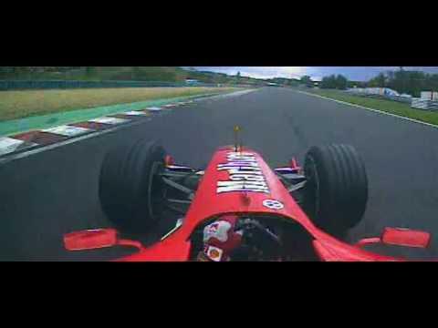 F1 Hungaroring 2004 - Michael Schumacher Pole Lap Onboard