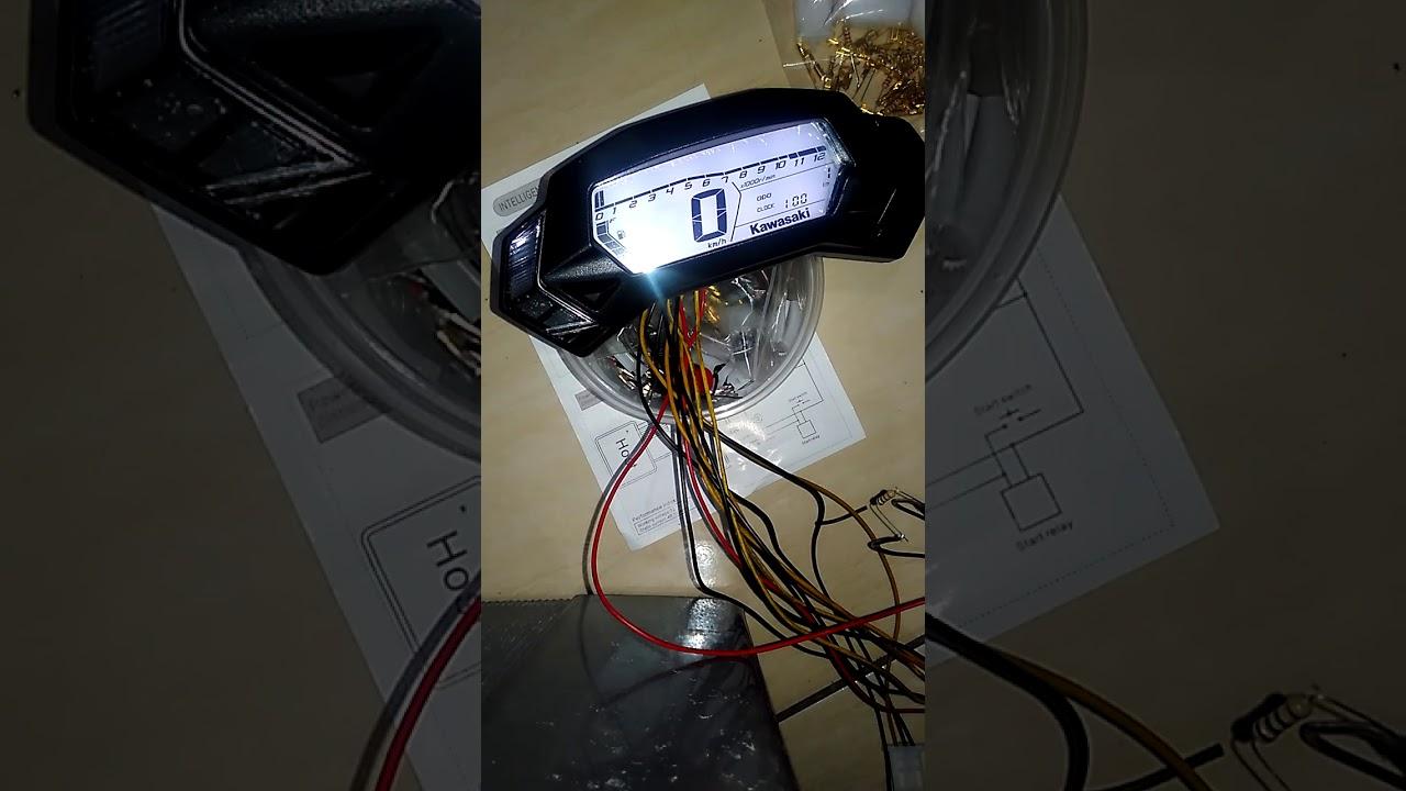 Test Speedometer Ninja Rr Mono Pnp Tiger Lama
