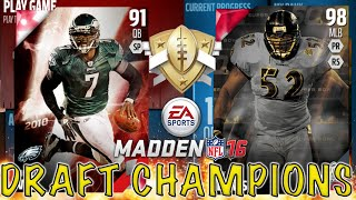 I Get The New Ray Lewis!!!! - Madden 16 Draft Champions