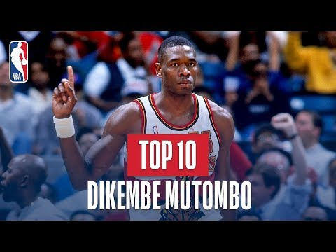 Dikembe Mutombo Top 10 Blocks of His Career