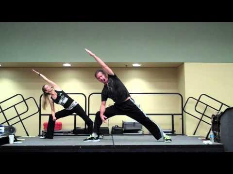 Scott Cole & Janis Saffell Cardio Strength Workout
