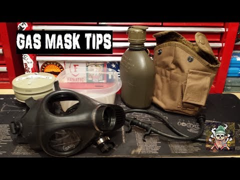 Child Gas Mask And Drinking System Tips