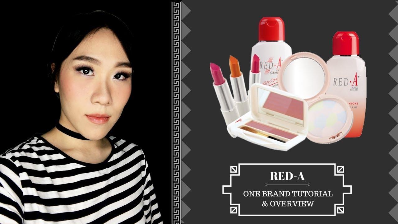 red-a one brand tutorial + mini review | vani sagita - youtube